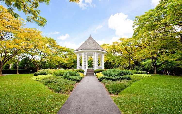 Tempat wisata favorit di Singapura - Botanical Gardens Singapura