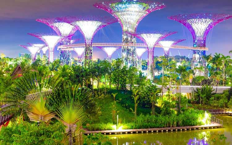 Tempat wisata favorit di Singapura - Garden by The Bay