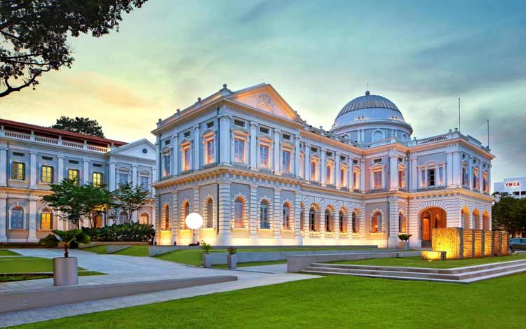 Tempat wisata favorit di Singapura - National Museum of Singapore