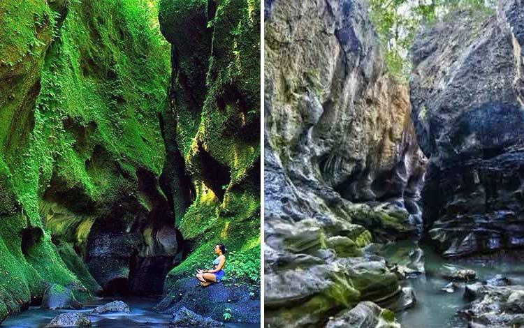 Tempat wisata terbaru di Bali - Hidden Green Canyon