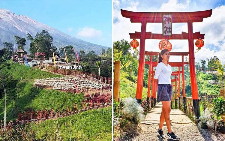 Tempat wisata terbaru di Bali - Taman Jinja Bali