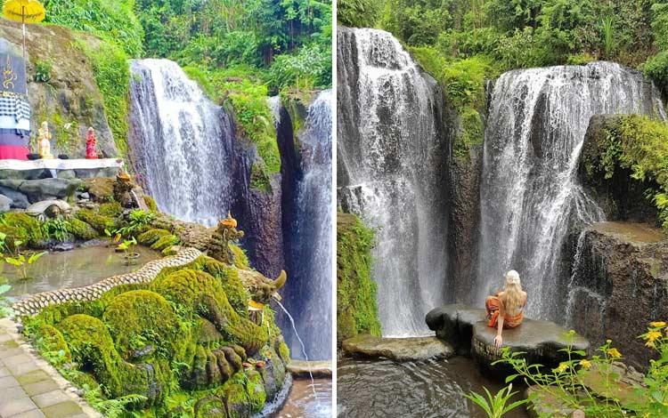 Tempat wisata terbaru di Bali - Air Terjun Beji Griya