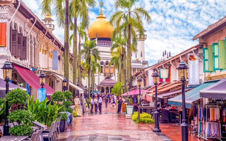 Info Terlengkap Singapura - Arab Street