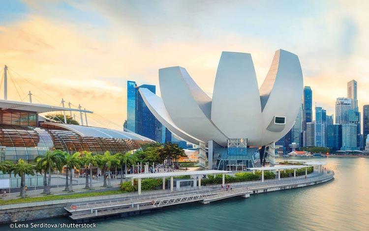 Info Terlengkap Singapura - Art Science Museum