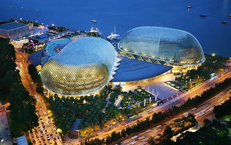 Info Terlengkap Singapura - Esplanade