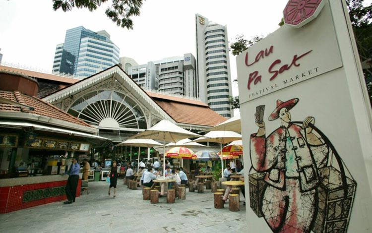Info Terlengkap Singapura - Lau Pa Sat