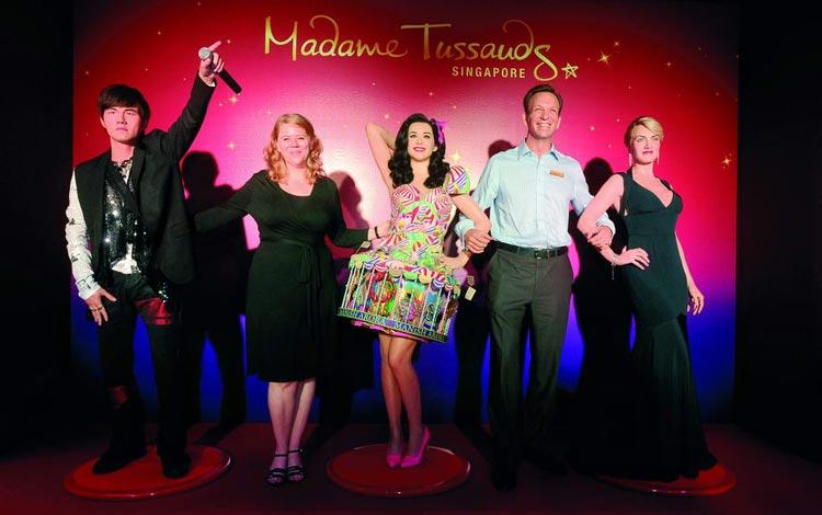 Info Terlengkap Singapura - Madame Tussauds Singapore