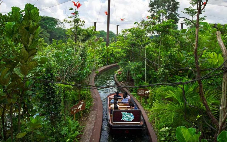 Info Terlengkap Singapura - River Safari Wildpark Singapore