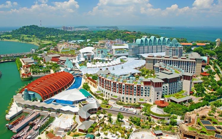 Info Terlengkap Singapura - Sentosa Island