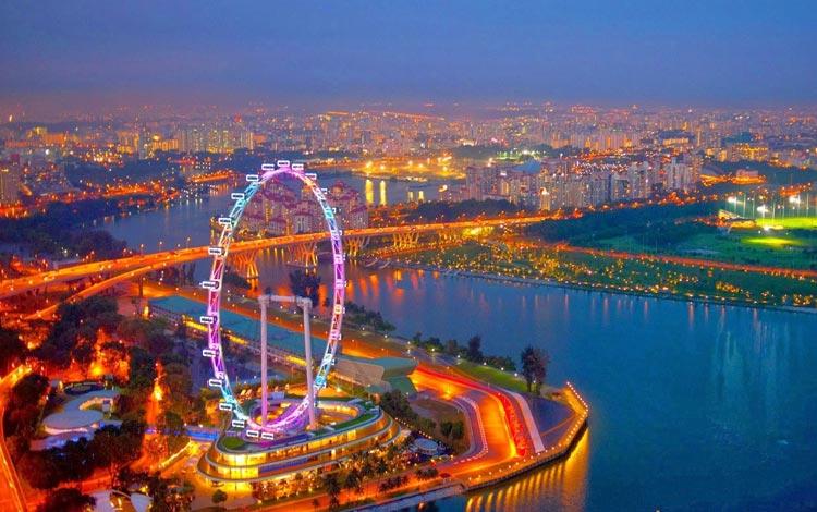 Info Terlengkap Singapura - Singapore Flyer