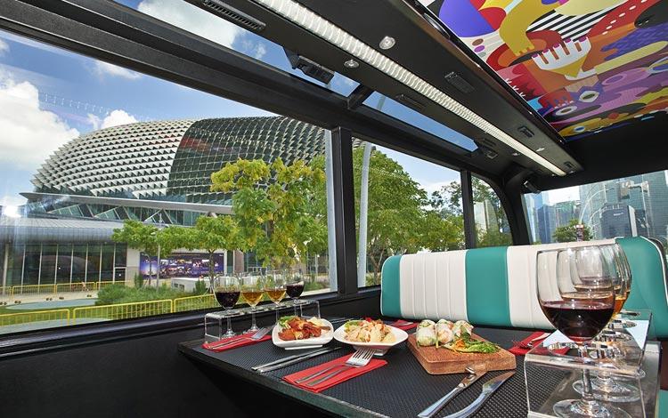 Info Terlengkap Singapura - Singapore Gourmet Bus