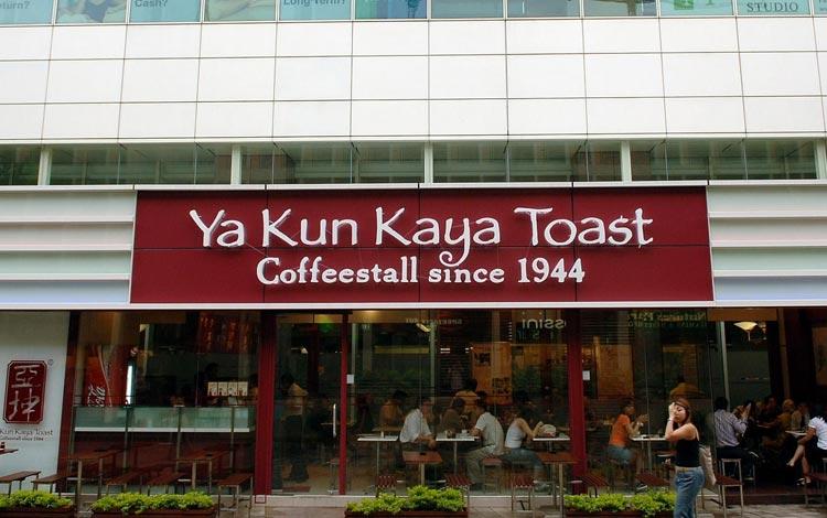 Info Terlengkap Singapura - Ya Kun Kaya Toast