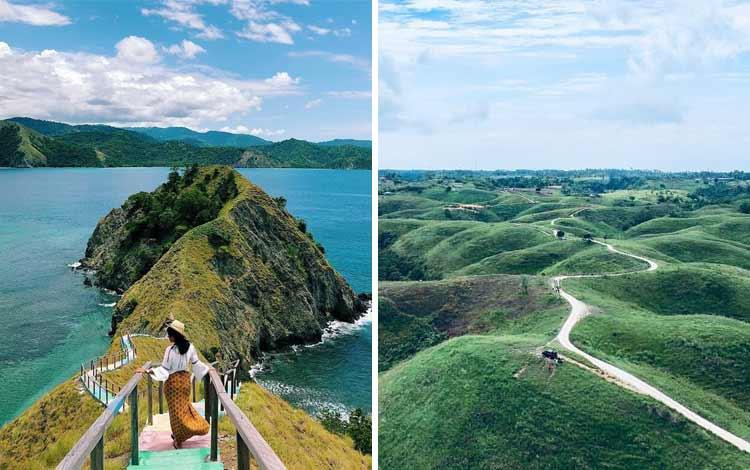 Pulau Dua Balantak dan Bukit Teletubbies, Luwuk Banggai - Sulawesi Tengah