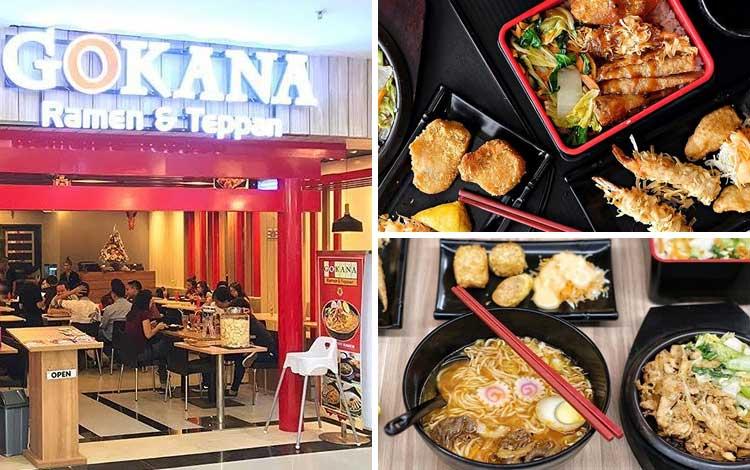 Restoran Jepang terbaik di Jakarta - Gokana Ramen & Teppan