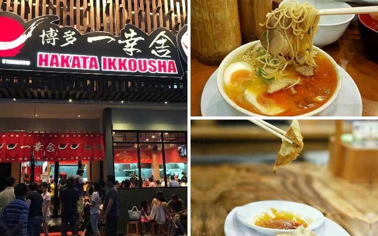 Restoran Jepang terbaik di Jakarta - Hakata Ikkousha