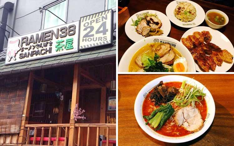 Restoran Jepang terbaik di Jakarta - Ramen 38 Sanpachi