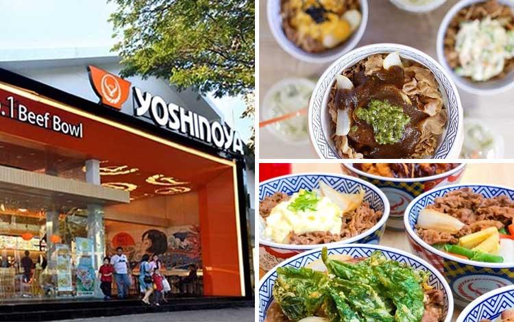 Restoran Jepang terbaik di Jakarta - Yoshinoya
