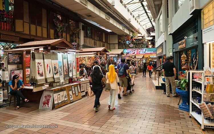 Tempat beli oleh-oleh murah di Malaysia - Central Market