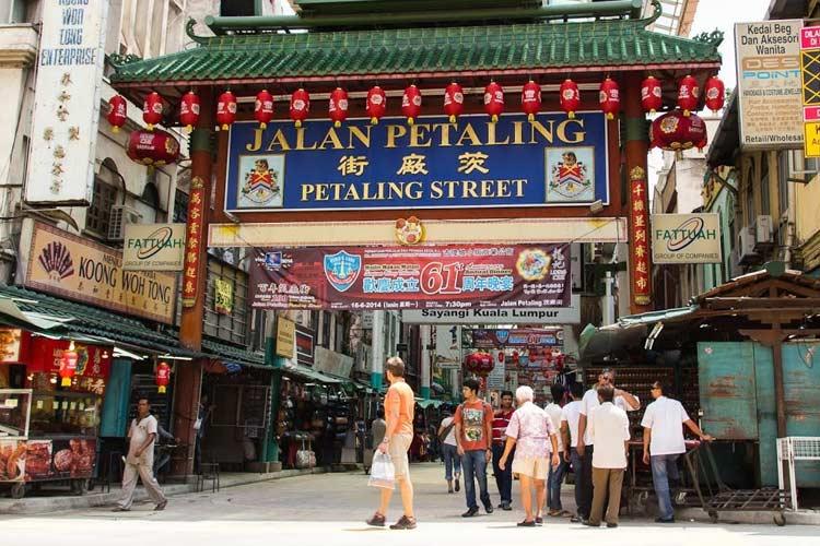 Tempat makan murah di Malaysia - Petaling Street
