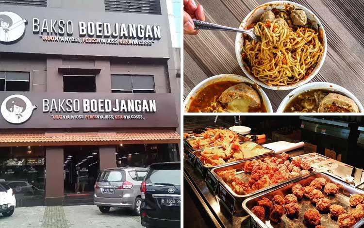 Tempat makan murah dan enak di Jakarta - Bakso Boedjangan
