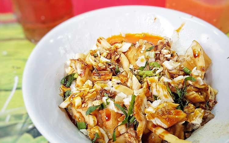 Tempat makan murah dan enak di Jakarta - Bubur Ayam Barito