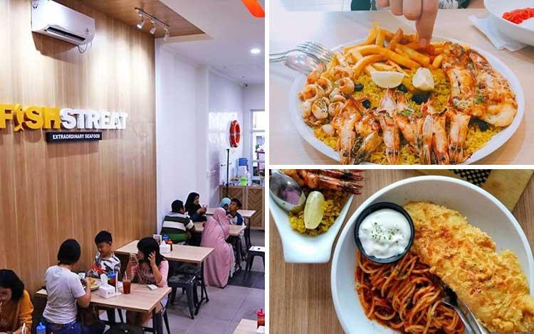 Tempat makan murah dan enak di Jakarta - Fish Streat