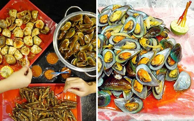Tempat makan murah dan enak di Jakarta - Kerang Kiloan Pak Rudi