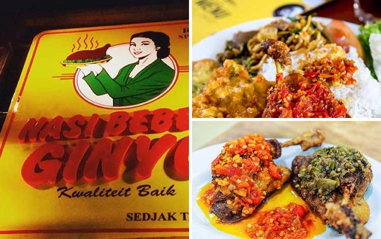 Tempat makan murah dan enak di Jakarta - Nasi Bebek Ginyo