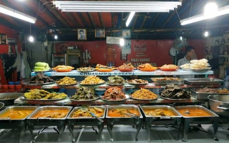 Tempat makan murah dan enak di Jakarta - Nasi Kapau Sabana Bana
