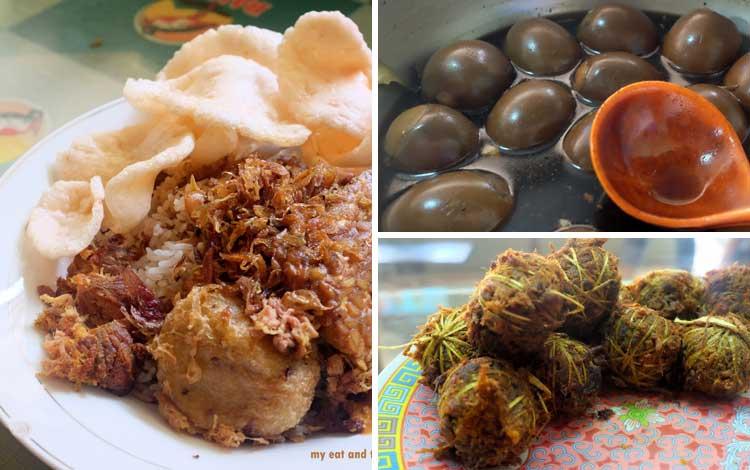 Tempat makan murah dan enak di Jakarta - Nasi Ulam dan Nasi Uduk Ibu Yoyo