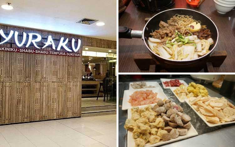Tempat makan murah dan enak di Jakarta - Yuraku, Kelapa Gading