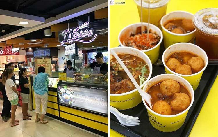 Tempat makan murah di Malaysia - D'Laksa