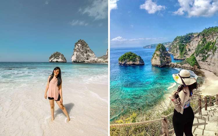 Pantai Diamond, Nusa Penida