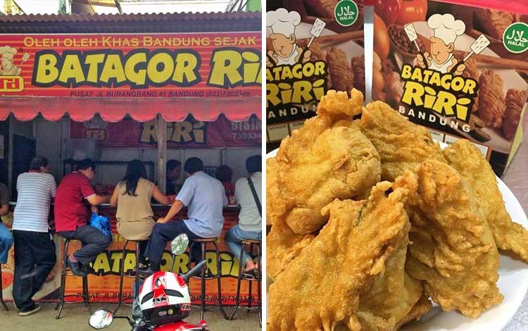 Tempat beli oleh-oleh murah di Bandung - Batagor Riri