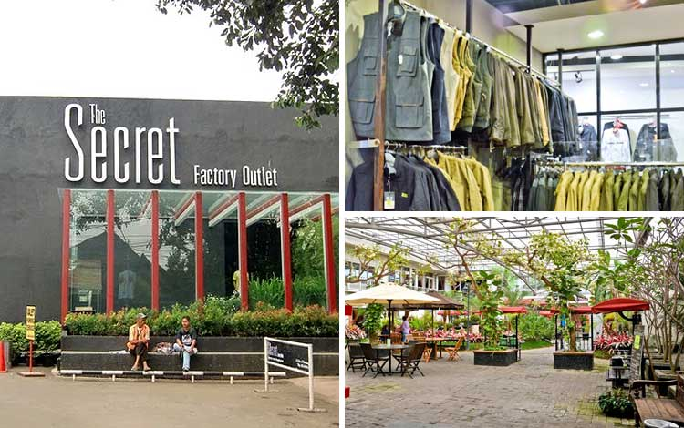Tempat beli oleh-oleh murah di Bandung - The Secret Factory Outlet