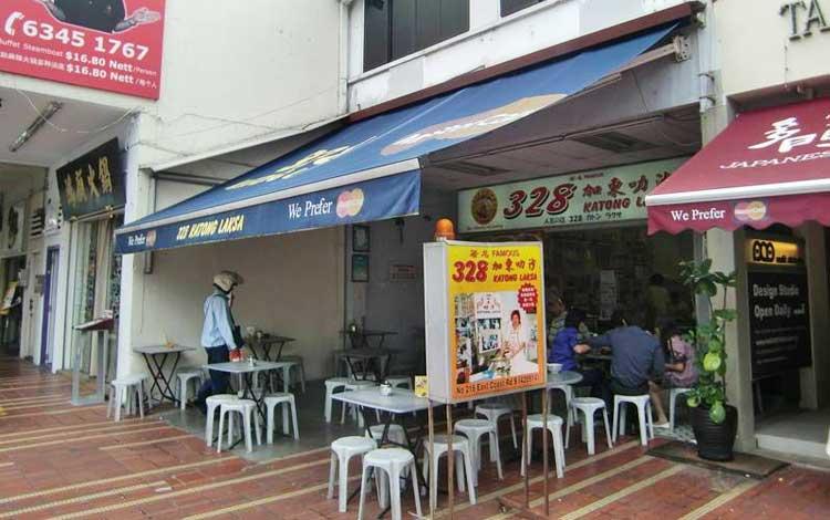 Tempat makan murah di Singapura - 328 Katong Laksa, Joo Chiat