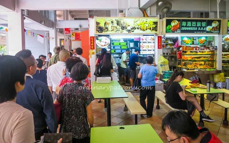 Tempat makan murah di Singapura - Albert Center Market & Food Centre