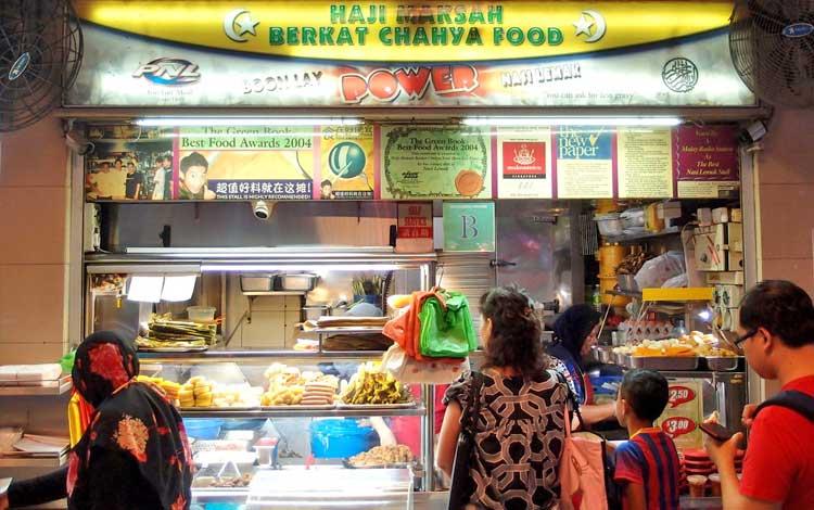 Tempat makan murah di Singapura - Boon Lay Power Nasi Lemak