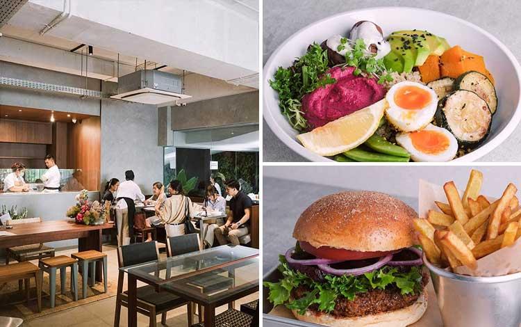Restoran vegetarian terbaik di Jakarta - Dej Vegan at BEAU
