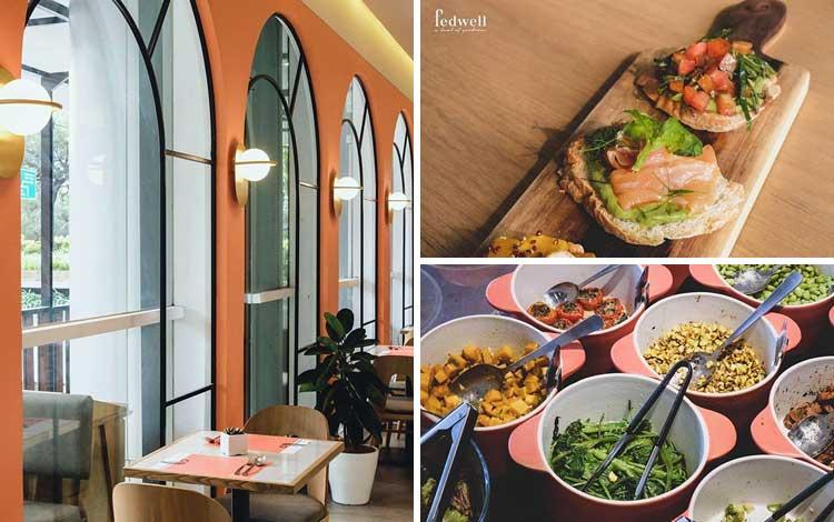 Restoran vegetarian terbaik di Jakarta - Fedwell Jakarta