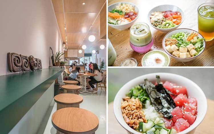 Restoran vegetarian terbaik di Jakarta - Honu Poké & Matcha Bar
