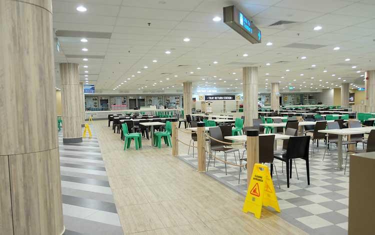 Tempat makan murah di Singapure - Staff Canteen Changi Airport