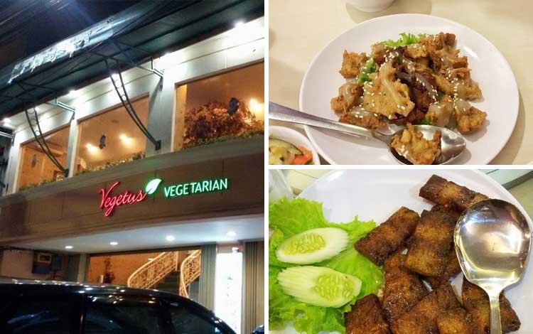 Restoran vegetarian terbaik di Jakarta - Vegetus Vegetarian