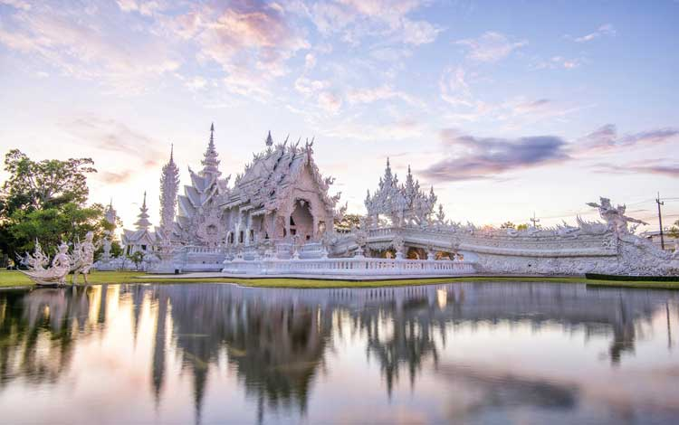Kuil Putih, Chiang Rai - Thailand