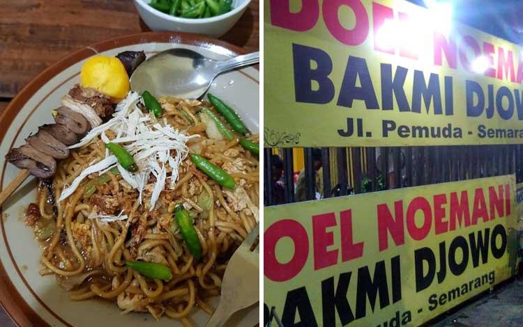 Tempat wisata kuliner di Semarang - Bakmi Jowo Pak Doel Noemani