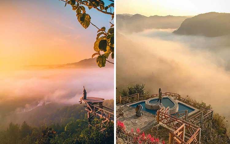 Negeri di atas awan - Bukit Panguk Kediwung, Bantul, Jogjakarta