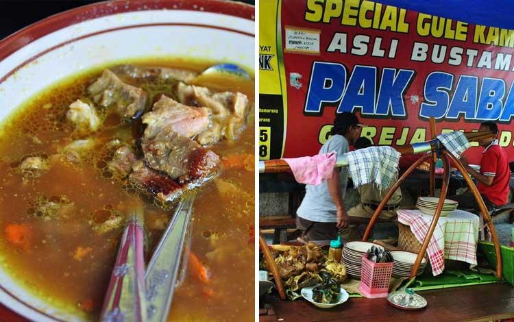 Tempat wisata kuliner di Semarang - Gulai Kambing Bustaman Pak Sabar
