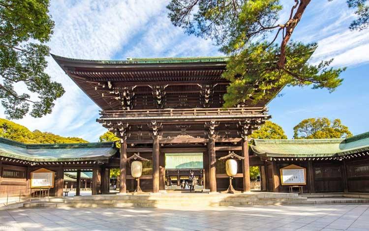 Tempat wisata terbaik di Jepang - Kuil Meiji Jingu