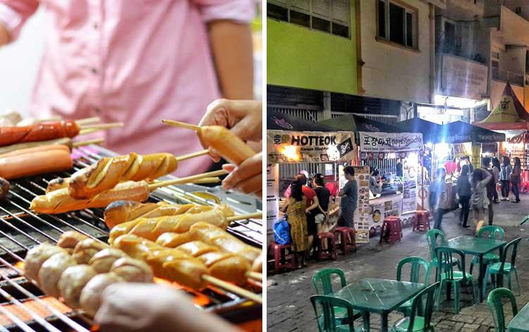 Tempat wisata kuliner di Semarang - Pasar Semawis