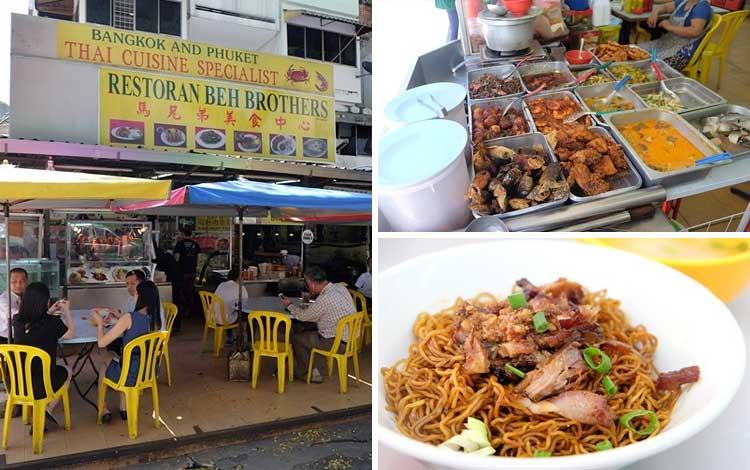 Tempat makan enak dan murah di Malaysia - Restoran Beh Brothers